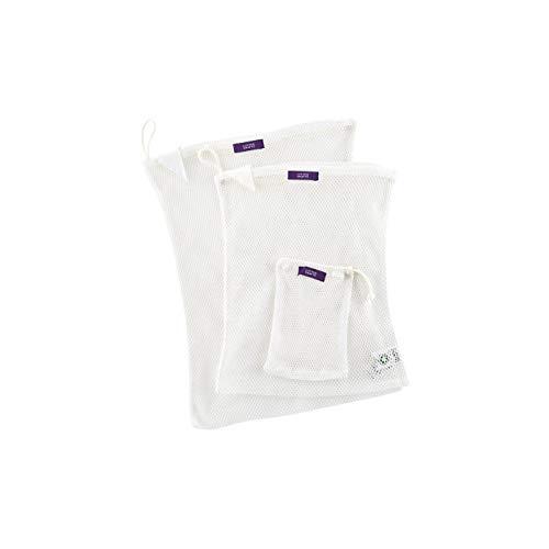 オーガニックコットン 洗濯ネット ランドリーネット 2枚セット+外袋/Living Crafts
