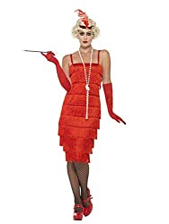 Ofertas Tienda de maquillaje: El flapper incluye vestido largo, diadema y guantes, ideal para eventos en interiores o exteriores y perfecto para el carnaval y fiestas temáticas. Talla: de 8 a 10. Pecho: 88,9 cm a 91,44cm. Cintura: 68,58 cm a 71,12 cm. Cadera: 93,98 cm a 96,52 cm...