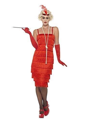 Smiffy's, flapper para mujeres, deslumbrante vestido largo