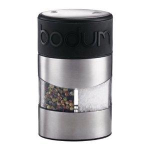 Bodum 11002-01 Twin Salz-und Pfeffermühle Schwarz**U.K.IMPORT**
