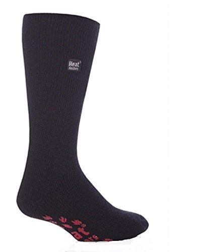HEAT HOLDERS - Chaussettes basses - Homme Noir Black with Red Pads