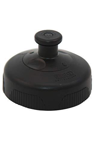 SIGG 3 Stage Sports Top Black Verschluss (One Size), Ersatzteil für SIGG Trinkflasche, auslaufsicherer Verschluss für Sportflaschen