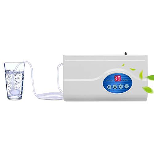 cgoldenwall 300ST hogar O3 frutas y verduras máquina de desintoxicación aire purificador de agua Lavadora de ozono generador de ozono ozonizador con secador de aire 220 V, 220V