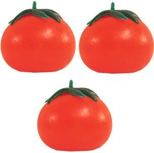 Splat Ball Novelty Squishy Toy Tomato-Pack of 3