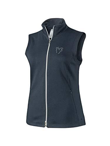 Joy Sportswear Karlotta Sportweste für Damen mit ärmellosem Schnitt für Running, Fitness und Freizeit, gefertigt aus Baumwolle und Polyester 46, Night