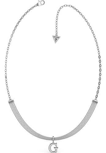 Guess Damen-Kette Edelstahl One Size Silber 32012903