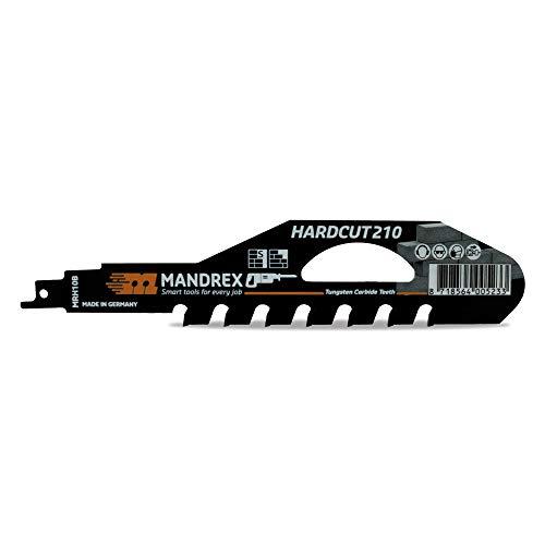 MandreX Säbelsägeblatt Stein HARDCUT Tigersägeblatt mit 210 mm Länge