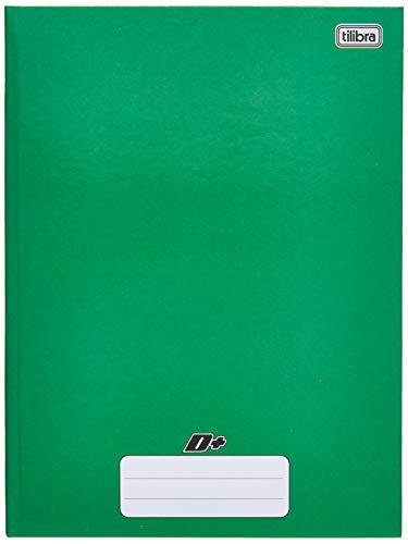Caderno Brochura Capa Dura Universitário, Tilibra, D+, 48 Folhas, Verde