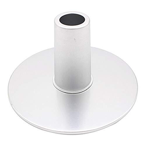 LOVIVER 6 Zoll 8 Zoll Cheesecake Pan Basis Chiffon Backform Backform Abnehmbaren Boden - Silber, 8 Zoll