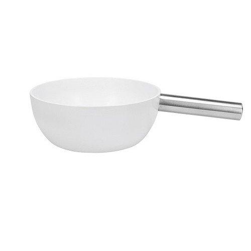 Kaasfondue-aluminium pan wit