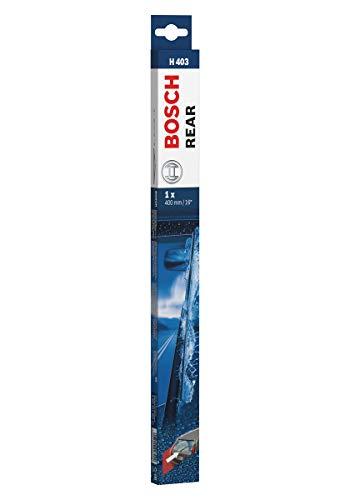 Bosch Rear Escobilla limpiaparabrisas H403, Longitud: 400 mm – 1 escobilla limpiaparabrisas para la ventana trasera