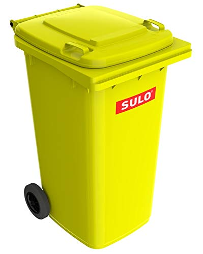 Sulo 240 Liter MGB Mülltonne Müllbehälter 2 Rad Tonne gelbe Tonne