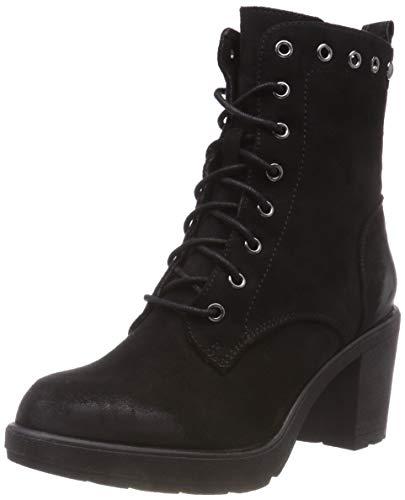 s.Oliver Damen 5-5-25245-21 001 Combat Boots, Schwarz (Black 1), 38 EU