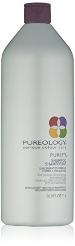 Price comparison product image Pureology Purify Cleansing Shampoo,  For Color Treated Hair,  33.8 Fl Oz