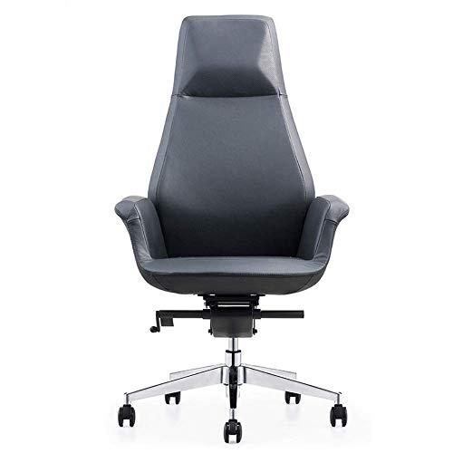 Spelstoel wit liggend, bureaustoel hoge rug Ergonomische bureaustoel comfortabele Racing computerstoel, verstelbare rugleuning draaibare taak kantelen e-sportstoel
