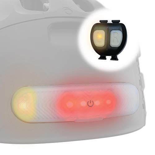 OVERADE - Iluminación extraíble Blinxi inalámbrica para casco de bicicleta, patinete –...