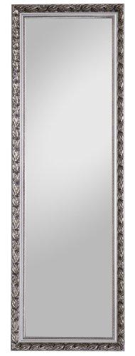 Spiegelprofi H0035015 Holzrahmenspiegel Pius, 50 x 150 cm, Silber