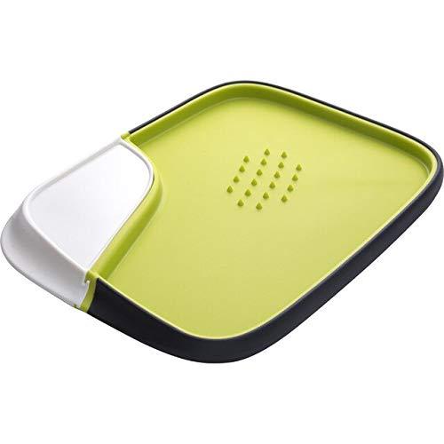 Épaissir Le Bloc de hachage antidérapant Durable en Acier Inoxydable Anti-moisissure Planche à découper Cuisine Double Face Planche à découper # 1 - Vert