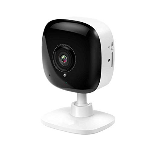 QPALZM 1080P Cámara IP Vigilancia WiFi,con detección Movimiento, notificaciones automáticas Tiempo Real, Audio bidireccional, visión Nocturna,Texto Alarma Via Email/App