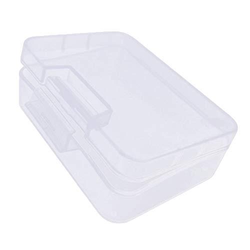 Clenp Kreditkarteninhaber Transparente Teile Box Batterie Schraube Schmuck Werkzeug Leerer Koffer Aufbewahrungsbehälter