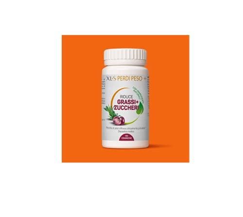 XLS PERDI PESO+ con Ingredienti di Origine Vegetale, 120 Compresse per la Perdita di Peso