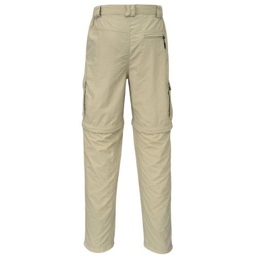 Cox Swain Trekking Hose Wanderhose Range Men Quick Dry - Anti Moskito - UV Schutz - Khaki/Beige Gr. L