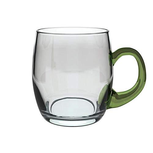 Böckling 19325 Weinseidel mit Henkel 250 ml, Glas, / 25 cl, grün/transparent (1 Stück)