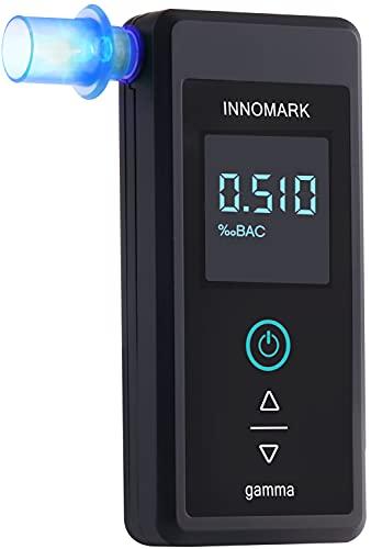 Innomark Gamma Éthylotest rechargeable et portable avec affichage numérique