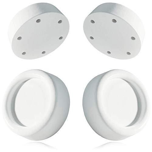 Almohadillas lavadora universal de Plemont® [Made in Germany] - Piezas de recambio y accesorios para pies lavadora y secadora - antivibracion lavadora