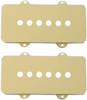 Fender Pickup Covers, Jazzmaster - Aged White (2)
