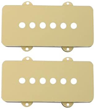 Fender Pickup Covers Jazzmaster - Aged White  2
