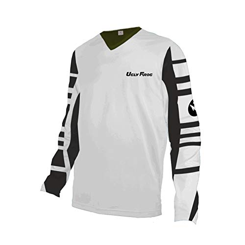 Uglyfrog Downhill Jersey Downhill Trikot MX Offroad Racewear Enduro Moto Cross Motorrad MTB Shirt Herren SJFL03