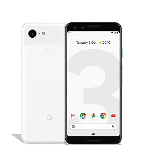 Google 99928198 Pixel 3 13, 86 cm (5, 46 pollici) Smartphone (2.5 GHz, 64 GB, 12.2 MP), colore: Bianco trasparente