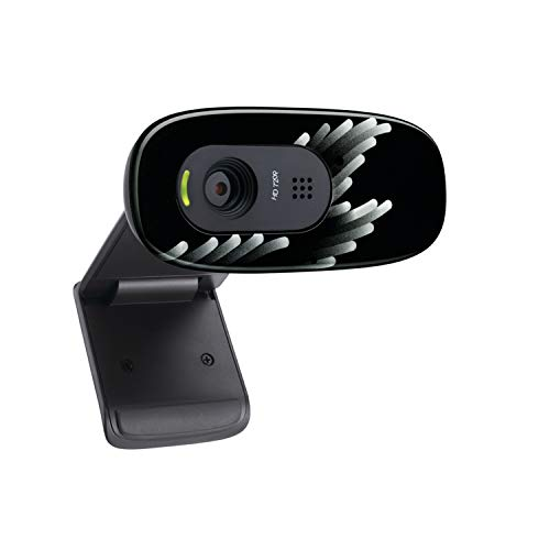Logitech C270 Webcam, West Europa Verpackung, Coral Fan - Schwarz