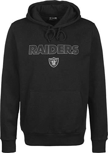 New Era Fleece Hoody - NFL Oakland Raiders Graphit - M