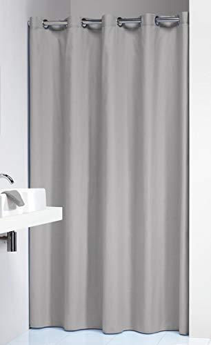 MTURE Anneaux de Rideau de Douche en Acier Inoxydable Chrom/é Glide Shower Curtain Rings