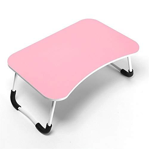 LVMEIHUA bureau, laptop, kantoor, bed, multifunctioneel, klaptafel, eenvoudige tafel, slaapzaal, een bed voor binnenshuis van de slaapkamer (60 x 40 x 30 cm)