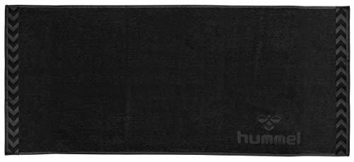 Hummel Large Towel Handtuch 160x70cm, Schwarz