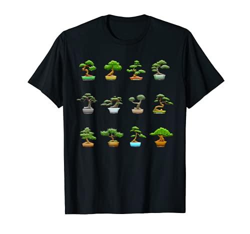Bonsai Tree Collection Buddhist Zen T-Shirt
