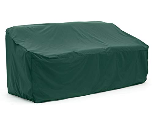 Covermates – Outdoor Patio Sofa Cover – 82W x 40D x 40H – Classic Collection – 2 YR Warranty – Year Around Protection - Green