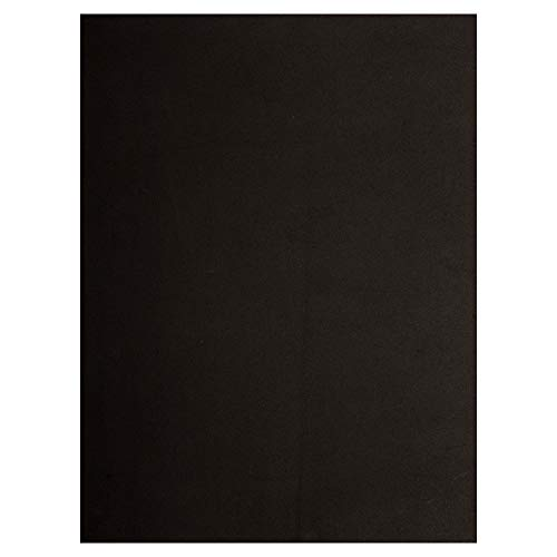 Time 4 Crafts 12-Piece Craft EVA Foam Sheets, 9 x 12 inches, Black