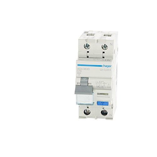 HAGER ADA963D FI/LS-Schutzschalter 1p+N C13 240V