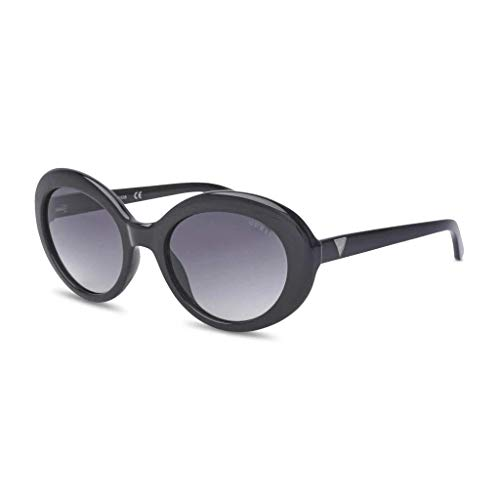 Guess GU7576 01B 55 Monturas de gafas, Negro (Negro LucidoFumo Grad), 55.0 Unisex Adulto