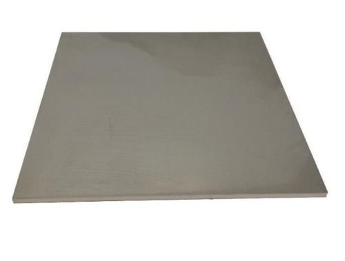 Great Deal! 1/4 x 4 x 4 Stainless Steel Plate, 304 SS, 1/4 (.25 Thick)