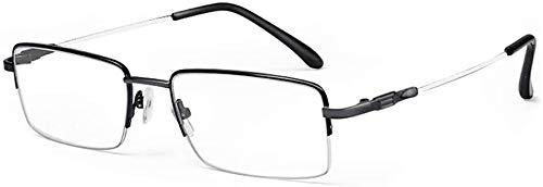 BECCYYLY Gafas de Lectura Gafas de Lectura, Azul Claro El Bl