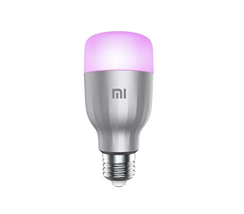 Xiaomi Mi LED Lampadina Colorata, WiFi (Non Richiede HUB), Compatibile con Google Home, Alexa e Apple HomeKit, [Versione Italiana] E27, 10 W, 800 lm