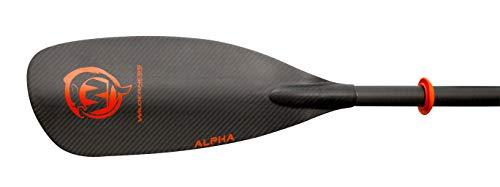 Wilderness Systems Alpha Angler Carbon Kayak Fishing Paddle | Carbon Fiber Blade |Adjustable Carbon Fiber Shaft (240-260cm), Black -  8070209