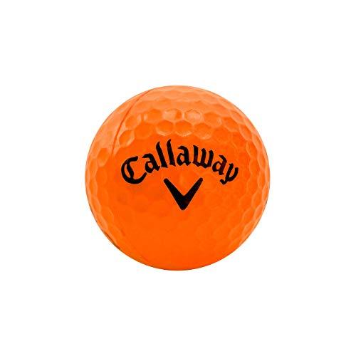 Callaway HX Soft-Flight Practice Golf Balls Colored Foam Balls, Orange, 9 Pack