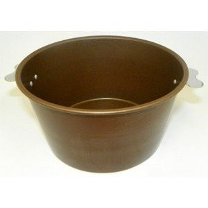 Removable Bottom 10-inch Diameter by 2-inch Deep SCI Scandicrafts Fluted Deep Tart//Quiche Mold