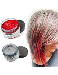 MOFAJANG Hair Color Wax in Silver Grey Review